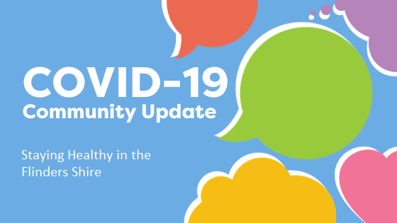Community announcement notice covid 19
